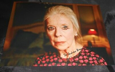 LADY LUCAN HAND SIGNED PHOTO Veronica, the Dowager Countess of Lucan LORD LUCAN