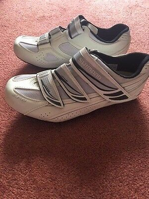 Womans Shimano  SPD bike shoes - WR35 (suitable for road or mountainbike)