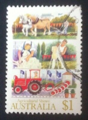 Australia 1987. SG1057 $1 Agricultural Shows. Fine Used.