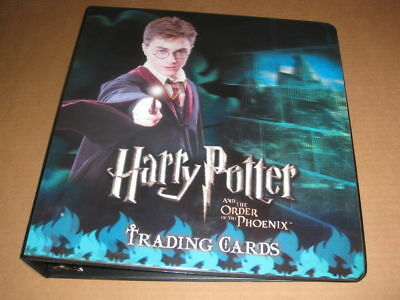 Harry Potter Order of the  Phoenix Trading Card Binder by Artbox- Series 1