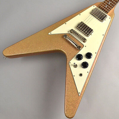Used Burny Flying V Type / Ken Model / LV-115KK w/ Soft Case