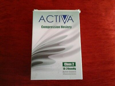 New/boxed - Activa Compression Hosiery - Size M (Class 2)