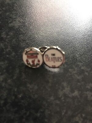 Liverpool Fc The Beatles Pin Badge