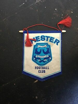 Chester Fc Pennant 1970s