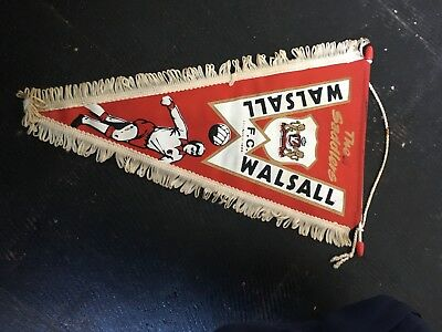 Walsall Fc Pennant Late 1970s