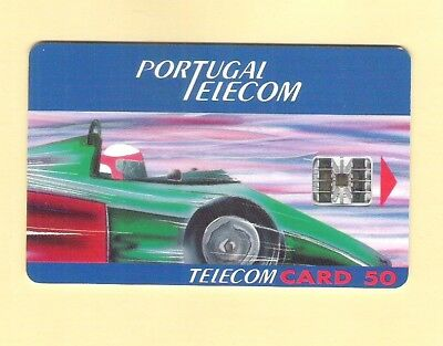 """Pt 1 Portugal Chipcard """"g.p. F1 Estoril '94"""" Not Used"""