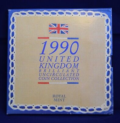Royal Mint 1990 Coin Collection