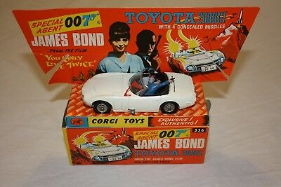 Corgi Toys 336 James Bond 2000GT in Original Box
