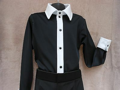 Boys' Ballroom /Latin shirt Size 5-6