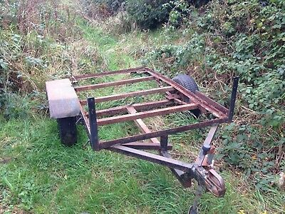 Car Trailer Chassis Spares Or Repair