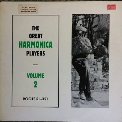 RL-321 The Great Harmonica Players - Volume 2