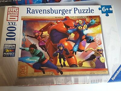 big hero 6 jigsaw puzzle 100 pieces Christmas present