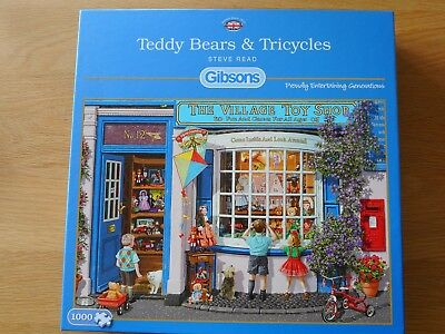 Gibsons Teddy Bears and Tricycles jigsaw puzzle