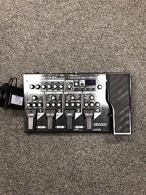 Boss Me-70 Guitar Multi Effects Pedal Processor Comes With Power Supply