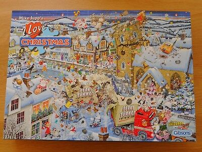 Mike Jupp's I Love Christmas jigsaw puzzle