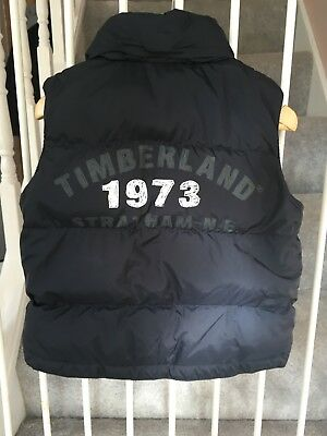 Boys Timberland bodywarmer Excellent con.18-24 months