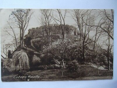 Postcard Of Totnes Castle Posted In1928