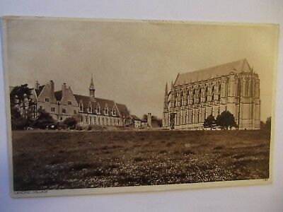 Postcard Of  Lancing College,  Posted In 1945