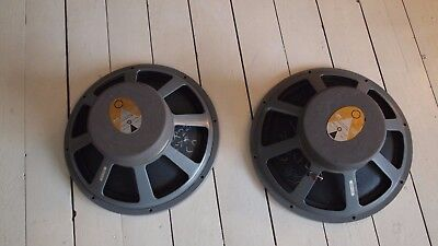 pair jbl LE15A LE-15A woofer bass driver chassis Paragon 15""