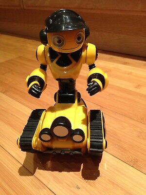 Wow Wee Mini Roborover Yellow Brand Battery Op