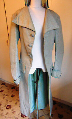 Vintage theatrical long Regency style frock coat Dandy Beu Brummel Oscar Wilde