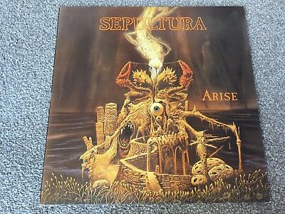 Sepultura - Arise - Orig Vinyl Lp, Roadracer, 1991, Thrash Metal