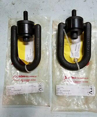 "2) ADB Hoist Rings 33516 Heavy Duty Hoist Ring, 2500 lb.WLL, 1/2""-13 Thread NEW"