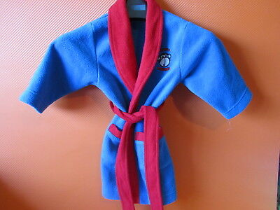 Boys Dressing Gown Age 0-6 Months