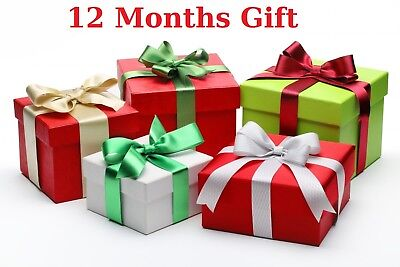 IPTV 12 Months Subscription Gift for MAG, Kodi, Vu+, Openbox, Android, SmartTV
