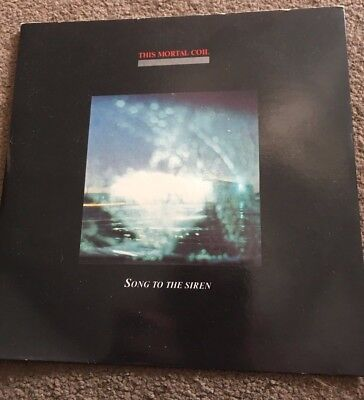 """This Mortal Coil - Song to the Siren  7"""" single (1983) AD3 UK 7"""" EXCELLENT COPY"""