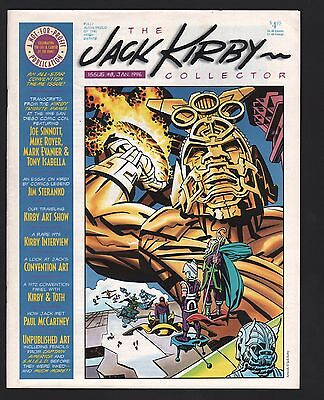The Jack Kirby Collector Fanzine Magazine #8 F/VF 7.0 White Pages