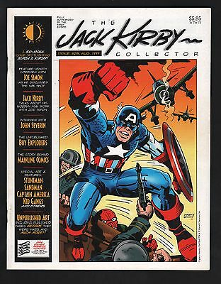 The Jack Kirby Collector Magazine #25 F 6.0 White Pages
