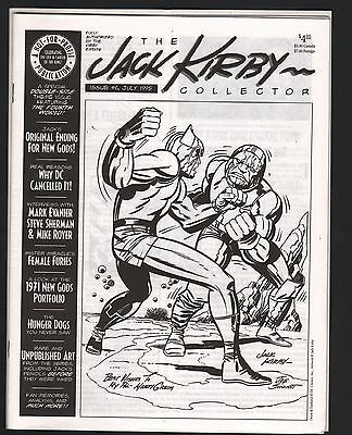 The Jack Kirby Collector Fanzine Magazine #6 VF/NM 9.0 White Pages