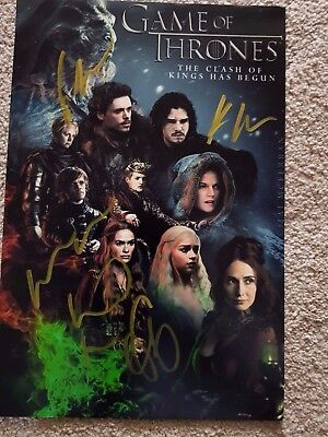 Game Of Thrones Hand Singed Photo