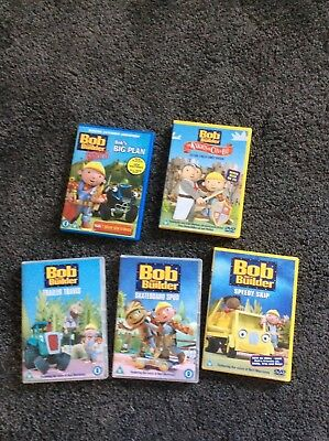 Bob The Builder Dvd Bundle