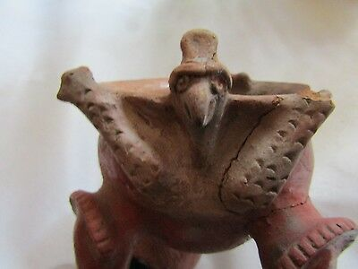 "Orig $399. Pre Columbian Bowl Figure 8"" Provenance"