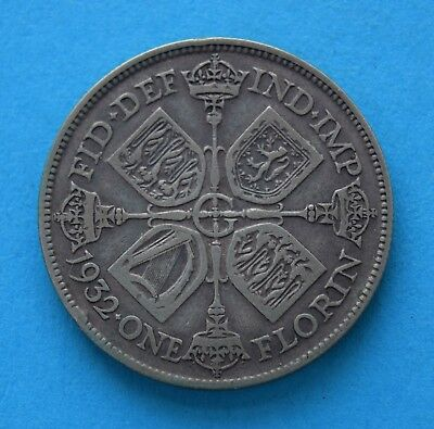 1932 George V Florin Coin