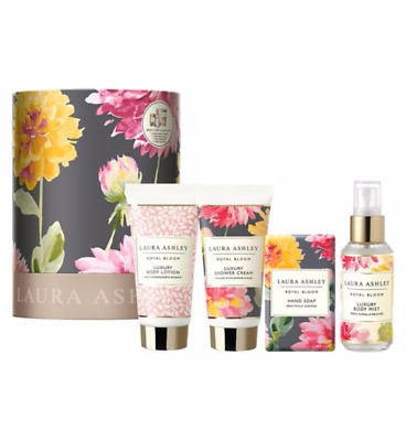 Laura Ashley Body Care Essentials  Gift Set 4 Piece.