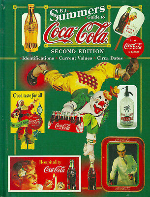"""""""b.j. Summers' Guide To Coca-Cola"""" 1999 2Nd Ed Hc Vg 100's Of Color Pix, Prices"""