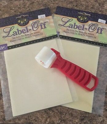 Wine Label Remover and roller Brand New in the package