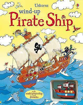 Wind-up Pirate Ship by Louie Stowell (Board book, 2010)