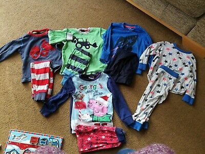 boys pjs 2-3 from Next, f&f and a pair of Christmas ones!