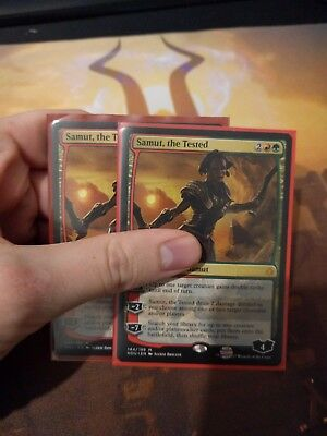 MTG Hour of Devastation SAMUT THE TESTED Planeswalker MYTHIC x2
