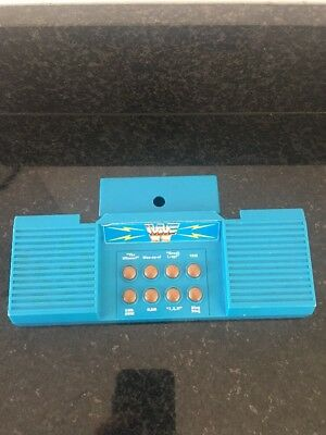 WWF Hasbro Sound Console ONLY. Compatible with WWF ring. Vintage. Collectible