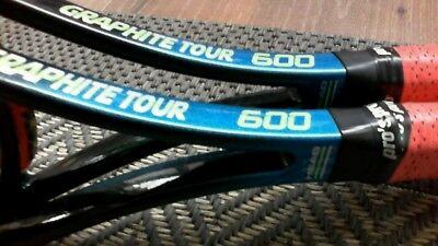 2 Head Graphite Tour 600 Rackets In Absolute Great Condition!!