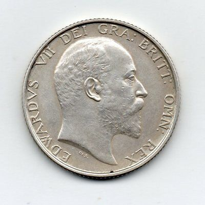 1902 PROOF SHILLING,  Edward VII