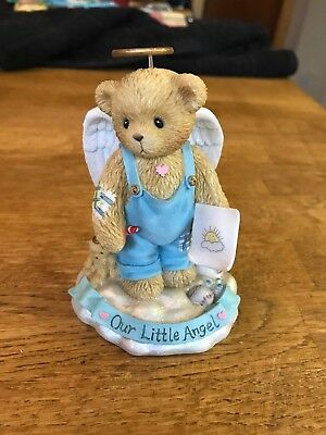 "Cherished Teddies Dylan ""Our Little Angel"" Limited Edition"