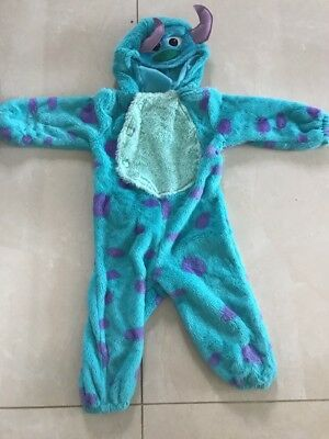 Sully Monsters Inc Disney Costume Fancy Dress Dressing Up 18 -24 Months