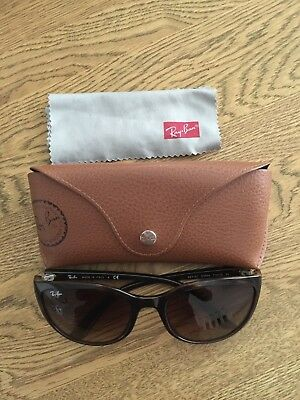 Ray-Ban Women's Sunglasses, Made in Italy RB4167 Emma 710/13 3N BROWN NEW