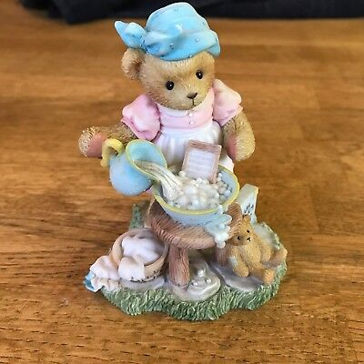 "Cherished Teddies Sandra ""Saturday's Child Works Hard For A Living """